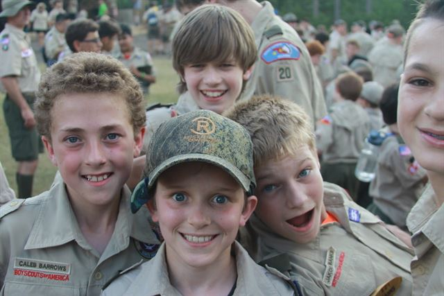 Boy scout camp jack off