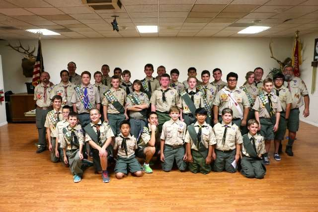 Troop 257 Clovis on